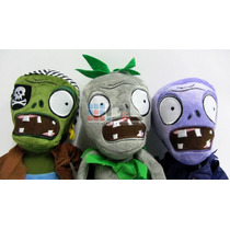Zombies Muñecos Peluche 32 Cm Plantas Vs Zombies Local Calle