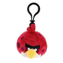 Peluche Angry Birds - Llavero Hermano Rojo - Original!