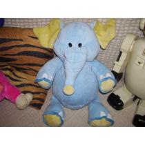 Dia Del Niño Hermoso Elefante De Peluche