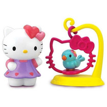 Hello Kitty Mini Sets En Blister - 1 Muñeca Con Su Mascota