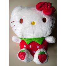 Hello Kitty - Peluche - 31cm X 22cm - Producto Importado.