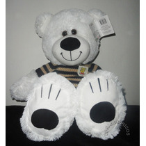 Oso Peluche Polar Grande 65 Cm C/ Sweater Importado Wabro