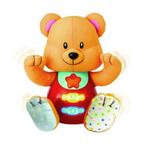 Juguete Winfun Peluche Osito Didactico Luces Y Melodias