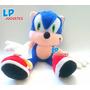 Peluche Muñeco De Sonic The Hedgehog 30 Cm