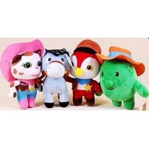 Sheriff Callie Y Amigos! Peck, Toby, Sparky! Set X4 Peluches