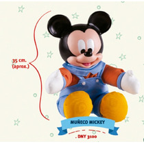 Mickey Muñeco Soft