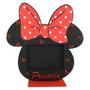 10 Souvenir Minnie Mouse - Portaretrato + Foto Personalizada