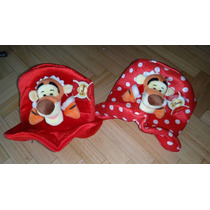 Tigger Whinnie Pooh Gorro Peluche Lunares Rojo
