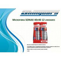 Microfibras Sonax 40x40 12 Unidades