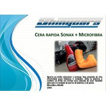 Sonax High Speed Wax + Microfibra 40cmx40cm