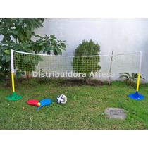 Mini Tenis Y Mini Futbol. 2 Juegos En 1. Serabot.