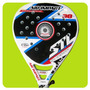 Paleta Padel Steel Custom Air Impact Carbono Funda Paddle
