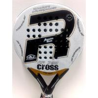 Paleta Paddle Royal Padel Cross Foam Sin Bordes 38mm + Funda