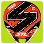Paleta Padel Steel Custom Storm Nucleo Eva + Protector Borde