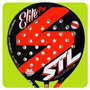 Paleta Padel Steel Custom Elite Pro Eva Soft Sin Bordes 38mm