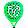 Paleta Padel Vairo 4.3 Black Green Nacional Envio Gratis