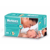 Huggies Primeros 100 Dias Recien Nacido X 40 Pañales