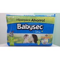 Pañales Babysec Ultra Grande Hiperpack X 52