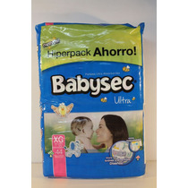 Pañales Babysec Ultra Hiperpack Xg X44