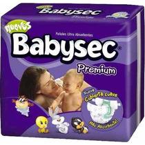 Babysec Premium 3 Hiperpack Combina Talles Con Envio Gratis