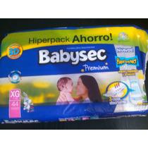 Pañales Xg Babysec Premium