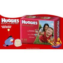 Pañales Huggies Natural Care Hiper Xxg X48 Varios Talles