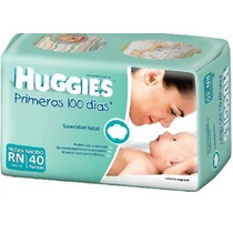Huggies Primeros 100 Días Maxipack Recién Nacido X40