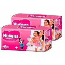 2 Superpack Pañales Huggies Princesas Active Sec Xg