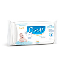 Toallitas Húmedas Q-soft Bebes Clásicas 3 Packs X 50u