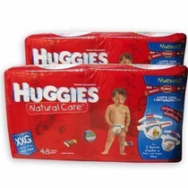 Pañales Huggies Xxg - Paq 48 Unid