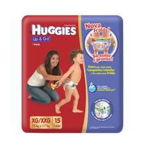 Pañales Huggies Up & Go, De Aprendizaje, Tipo Calzoncillo
