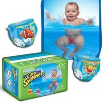 Pañales Agua Pileta Playa Huggies Bebes Niños