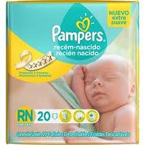 Pañales Pampers Recien Nacido X 20 Unid.