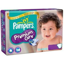 Pañales Pampers Premium Care Violetas Xg 48 Pañales