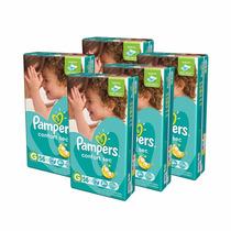 5 Hiperpack Pañales Pampers Confort Sec Grande