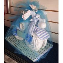 Torta De Pañales - Ajuar De Recién Nacido - Babyshower