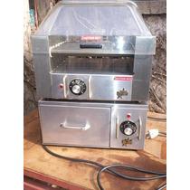 Panchera Electrica Impecable Importada Acero Inox
