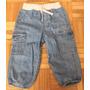 Pantalon Jean Cargo Cintura Elastizada Carters Unisex 18m
