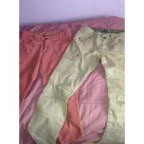 Pantalon Niña Zara Corderoy Cargo