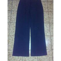 Pantalon De Vestir Azul