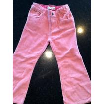 Pantalon Corderoy Con Brillo Talle 3 Gap Diseño