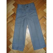Pantalon Import. T. 4 De Vestir O Colegio Nene Robert Lewis