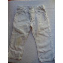 Pantalon Capri Nena Blanco Cheeky Talle 6