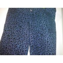 Pantalon Animal Print Elastizados Con Floc T 40 A 58 $ 390