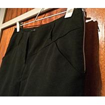 Pantalon Cigarette Lux Importado Miami Talle S Negro