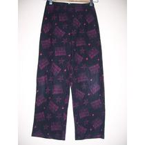 Pantalon Pijama Niña Talle 10-12 Años Polar