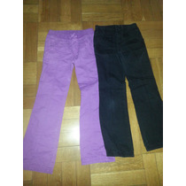 Dos Pantalones Casuales Childrens Place Algodon No Jean