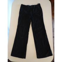 Pantalon Gap De Gabardina Talle 4 = 30 / 40 Color Negro