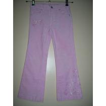 Pantalón Niña Talle 6 Años Corderoy Elastizado