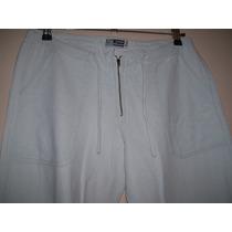 Pantalón Mujer Talle L De Tiro Medio